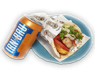 Gyros Pitta (win 1pts/ buy for 10 pts)